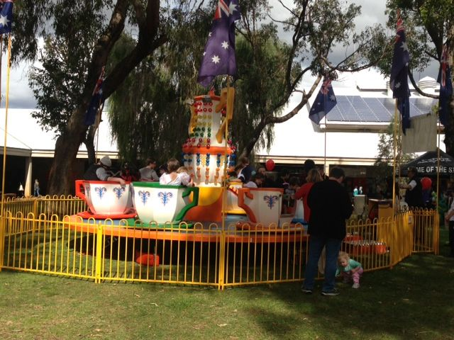 Rides at Murdoch Open day