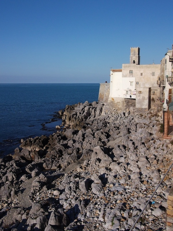 Seafront Apartment View - Cefalù  in Sicily is an attractive historic town and seaside resort.