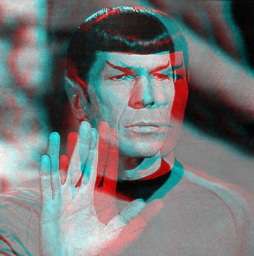 Live Long and Prosper... in 3D by homerjk85 on deviantART