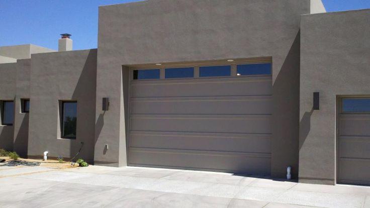Model 2294 Flush In Sandstone Chi Garage Doors