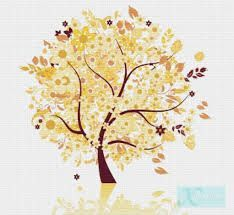 cross stitch four seasons - Google Search