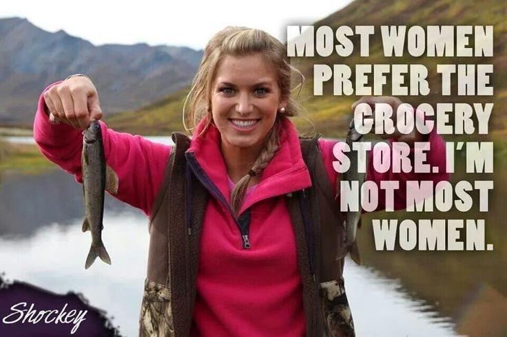 Girls who hunt and fish