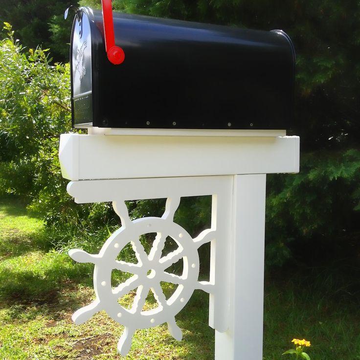 Top 25 Ideas About Coastal Mailboxes On Pinterest Window