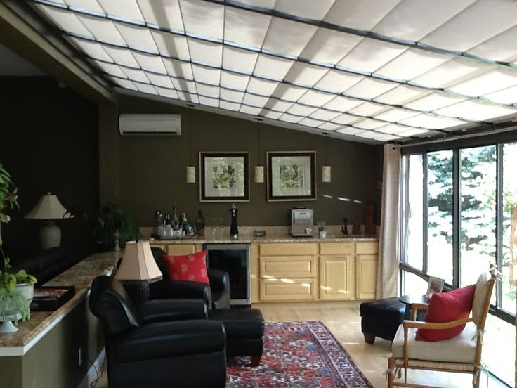 Elegant 2 From The Bickelu0027s Of Their New Shades In Their Four Seasons Sunroom