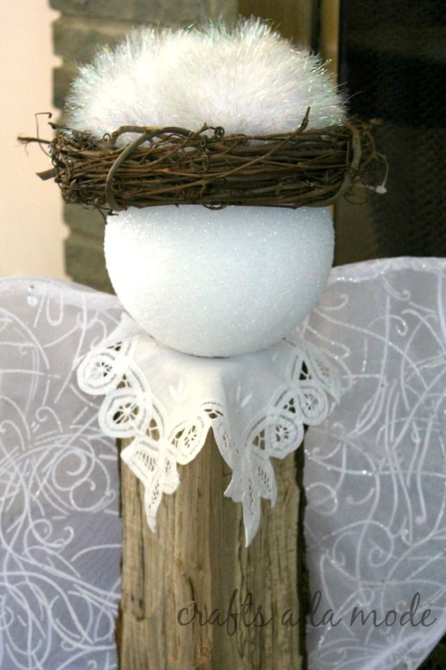 1092 Best Angel Crafts Images On Pinterest Christmas