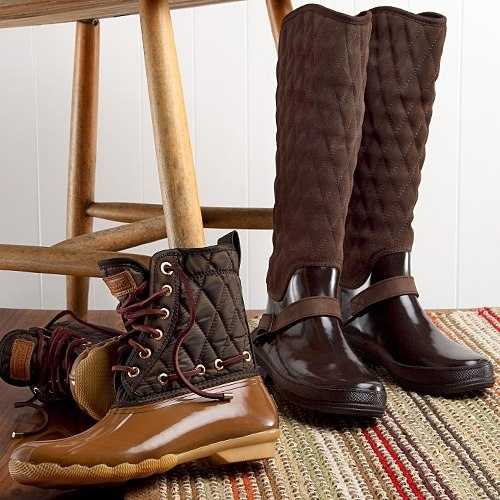 beautiful Sperry boots