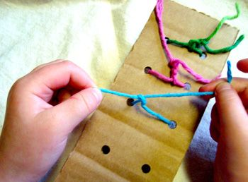knot tying practice! simple!