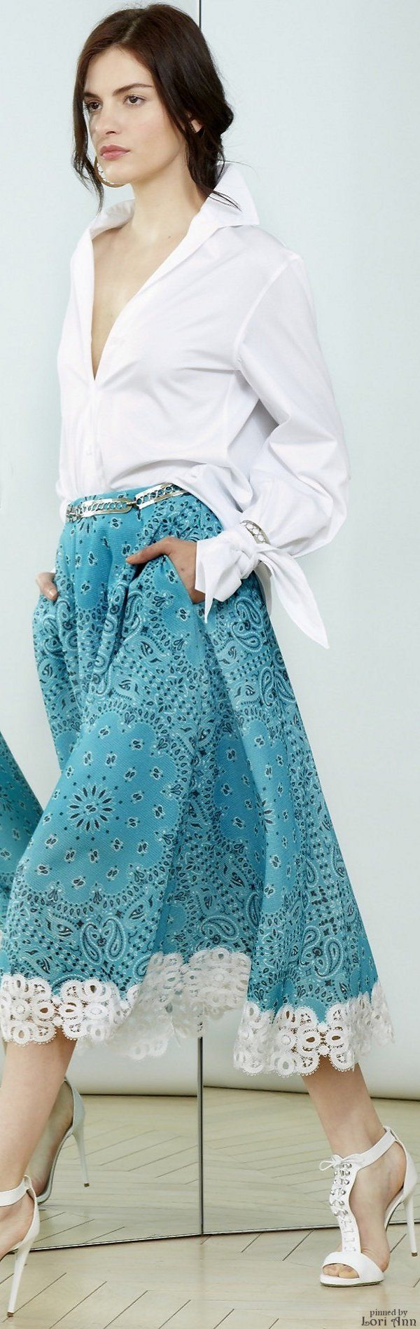 Alexis Mabille Resort 2016 women fashion outfit clothing style apparel @roressclothes closet ideas
