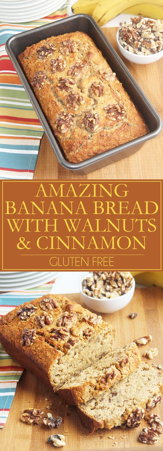The best banana bread you'll ever make! This exceptionally moist and delicious banana bread is full of toasted nuts with the wonderful flavor of cinnamon. It's a welcome addition to any morning. Click through to print the recipe. Pin it now, you're going to want to make it again and again. Ad. @jillconyers