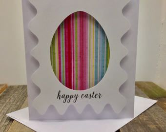 Items similar to Surprise Chick In Egg Card// Cute Happy Easter or Happy Spring Card // Charitable Donation on Etsy
