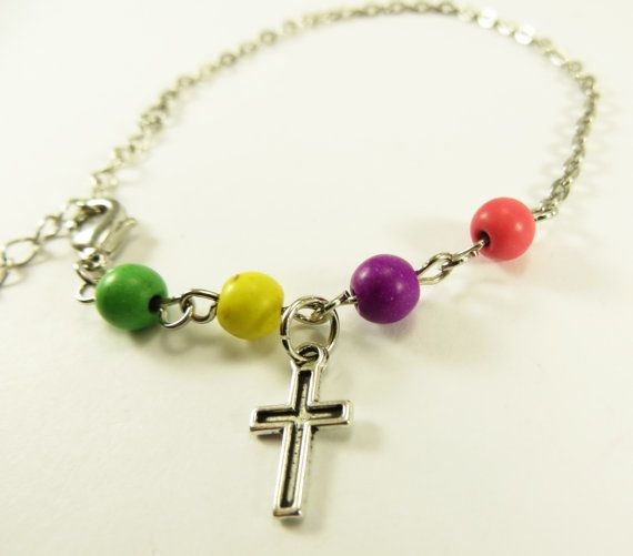 Hey, I found this really awesome Etsy listing at https://www.etsy.com/listing/186128646/faith-chain-bracelet