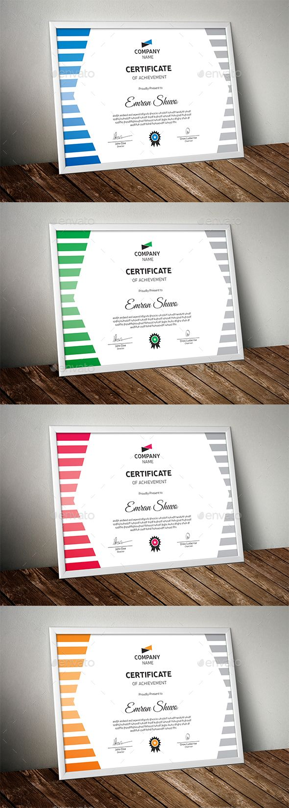 Certificate #appreciation #certificate indesign  • Download here → https://graphicriver.net/item/certificate/18204129?ref=pxcr