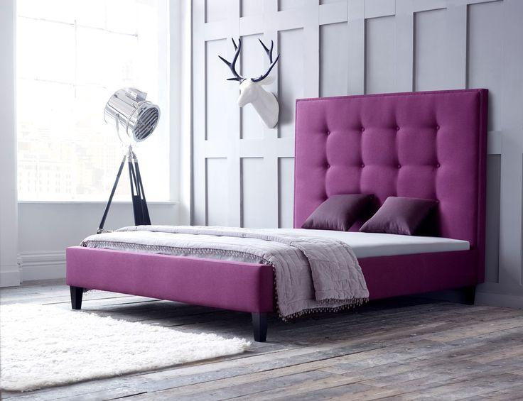Ivy Tall Bed, £709, www.livingitup.co.uk