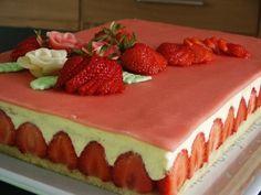 Le fraisier du blog amusesbouche