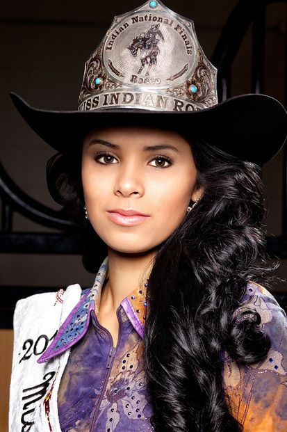 Miss Native American Rodeo 2013 - Sonyah Shae Clifford, Oglala Lakota