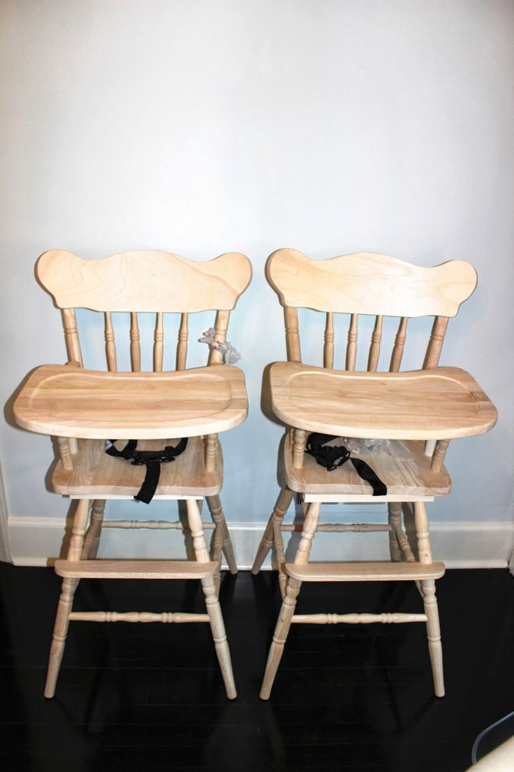 100+ Unfinished Wood High Chair - Kitchen Trash Can Ideas Check more at http://cacophonouscreations.com/unfinished-wood-high-chair/