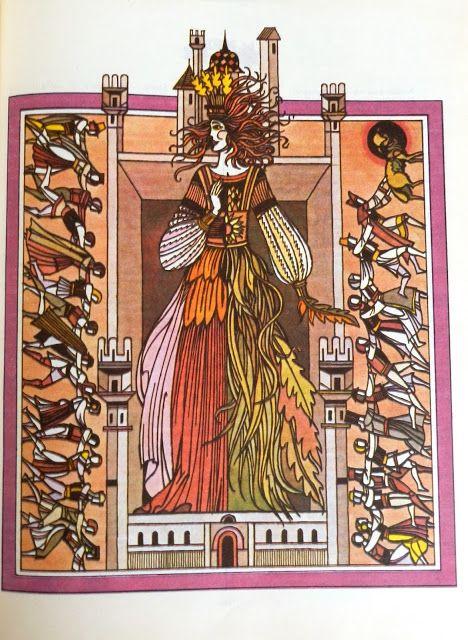 Val Munteanu - Legende populare româneşti illustrations