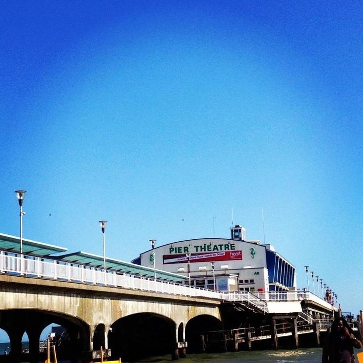 Bournemouth beach..
