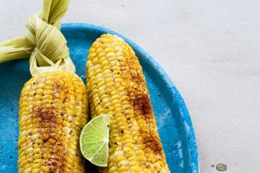 Corn with Mexican butter
