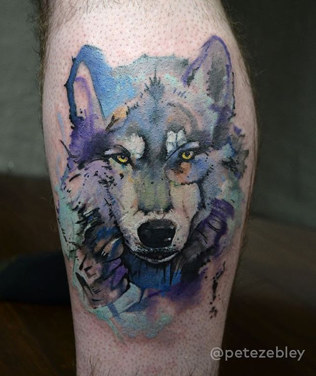 Best 25 Wolf Tattoos Ideas On Pinterest: Best 25+ Watercolor Wolf Tattoo Ideas On Pinterest