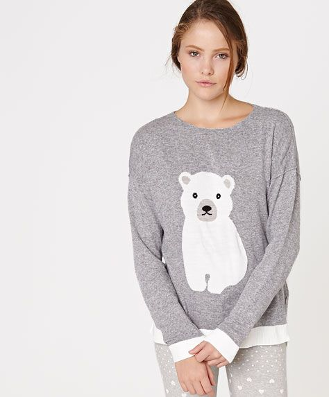 Polar bear jersey - OYSHO