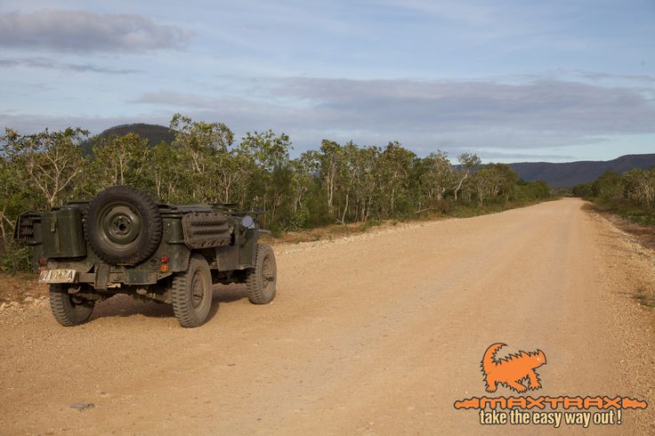 MAXTRAX Jeep in Cape York