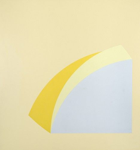 Walter Darby Bannard (Represented), Yellow Rose #6 1965, Alkyd resin on canvas