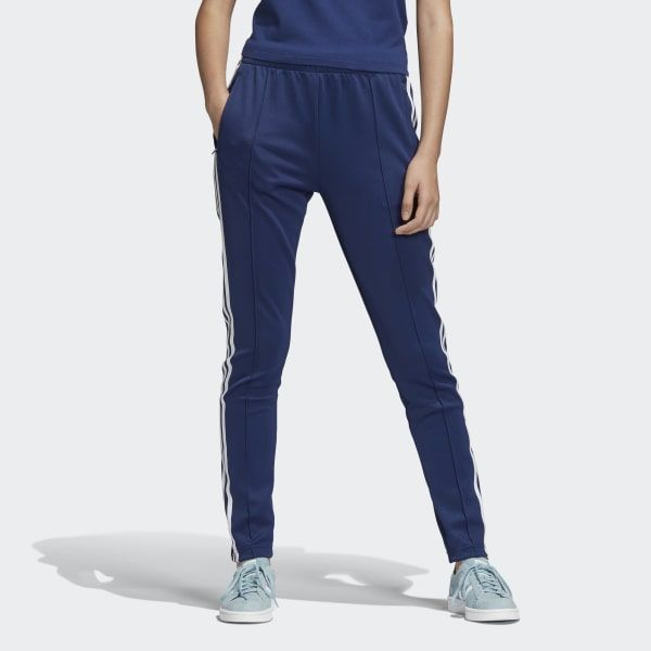 adidas SST Track Pants - Blue | adidas US | Trainingsbroek ...