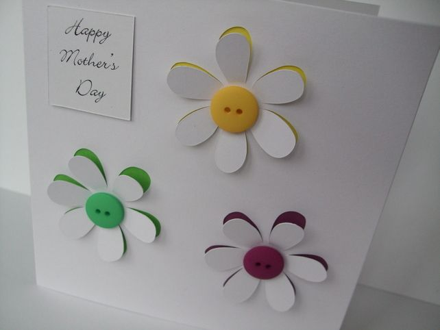 Mother's Day Card, Mothers Day Card - Flowers £2.95