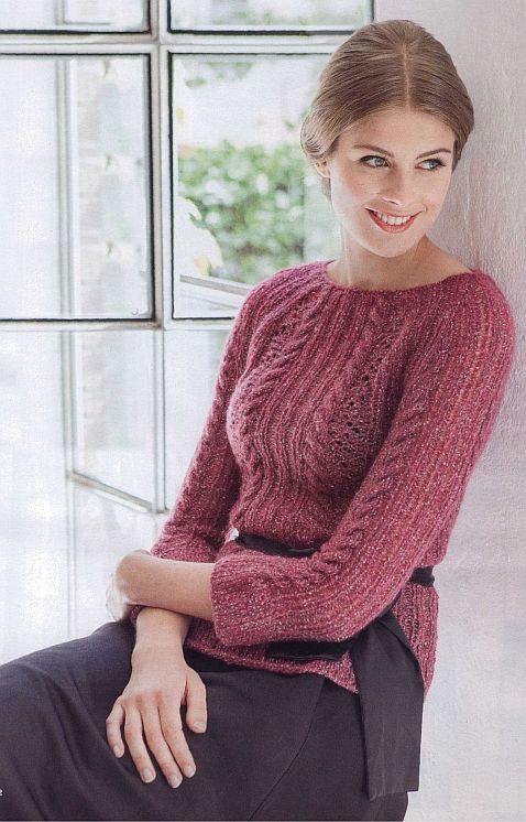 pulover raglan