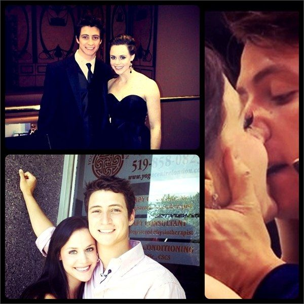 Canadian Ice Dancers Tessa Virtue and Scott Moir. LOVE them! How are they NOT a couple???