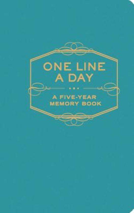 One Line A Day / Meerjarendagboek