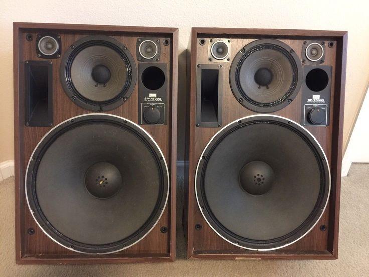 Vintage Sansui Sp 7500x Speakers Follow The Link For