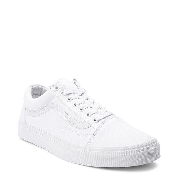 Vans Old Skool Skate Shoe - White