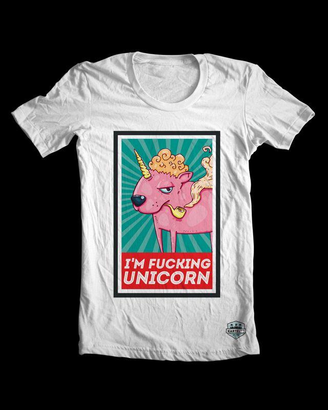 I am fucking unicorn t-shirt specially for boys! Check all SS'14 collection - www.kartelclth.pl #uincorn4boys #tee #tshirt #manfashion #olej #menfashion #shirt  #ss2014 #fuckunicorn #unicorn