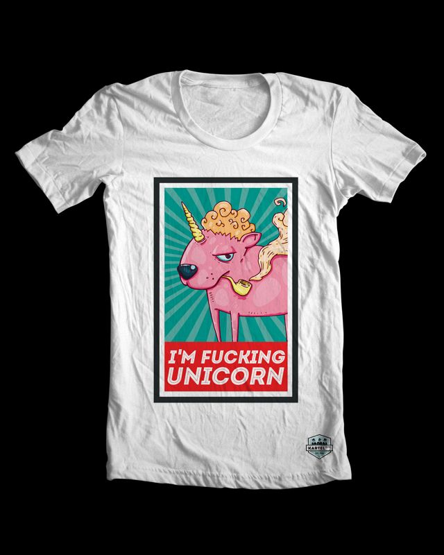 I am fucking unicorn t-shirt specially for boys! Check all SS'14 collection - www.kartelclth.pl #uincorn4boys #tee #tshirt #manfashion #olej #menfashion #shirt  #ss2014 #fuckunicorn #unicorn
