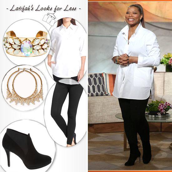 Latifah's Looks for Less: Thursday, February 13th | Plus size girl | Pinterest | Thursday, February and Queens