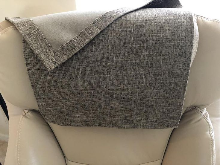 recliner headrest cover furniture protector polyester