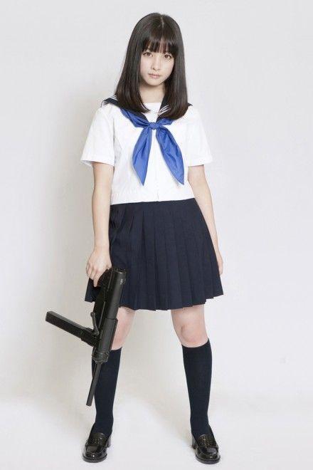 橋本環奈 『セーラー服と機関銃-卒業-』インタビュー(写真:逢坂聡)