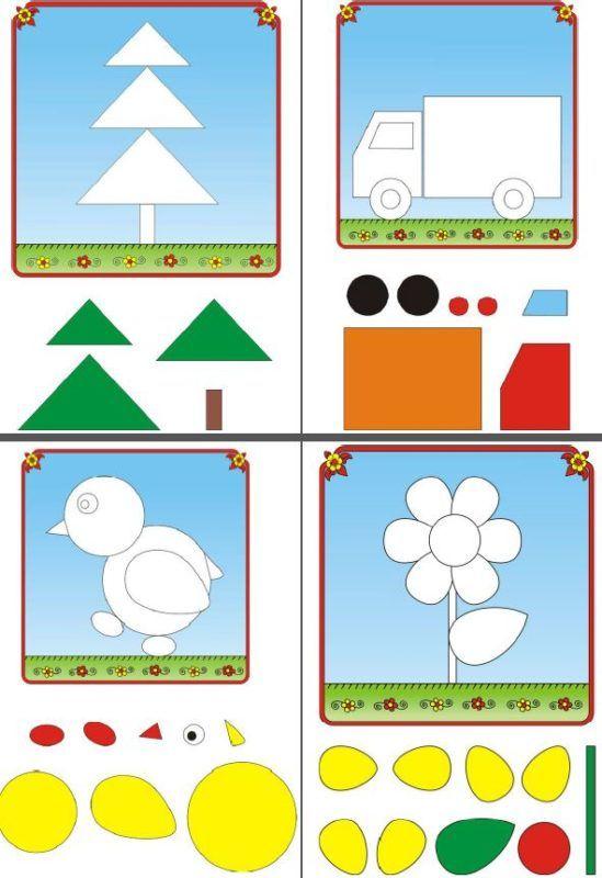 10 Dibujos Para Completar Con Formas Figuras Geometricas Para Preescolar Actividades De Aprendizaje Del Nino Actividades Para Ninos Autistas