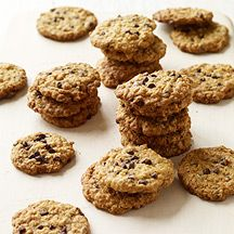 Image of Crispy Oatmeal-Chocolate Chip Cookies. 2 Points each, makes 30 cookies.