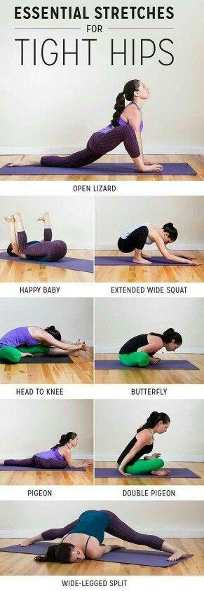 Tight hip exercises