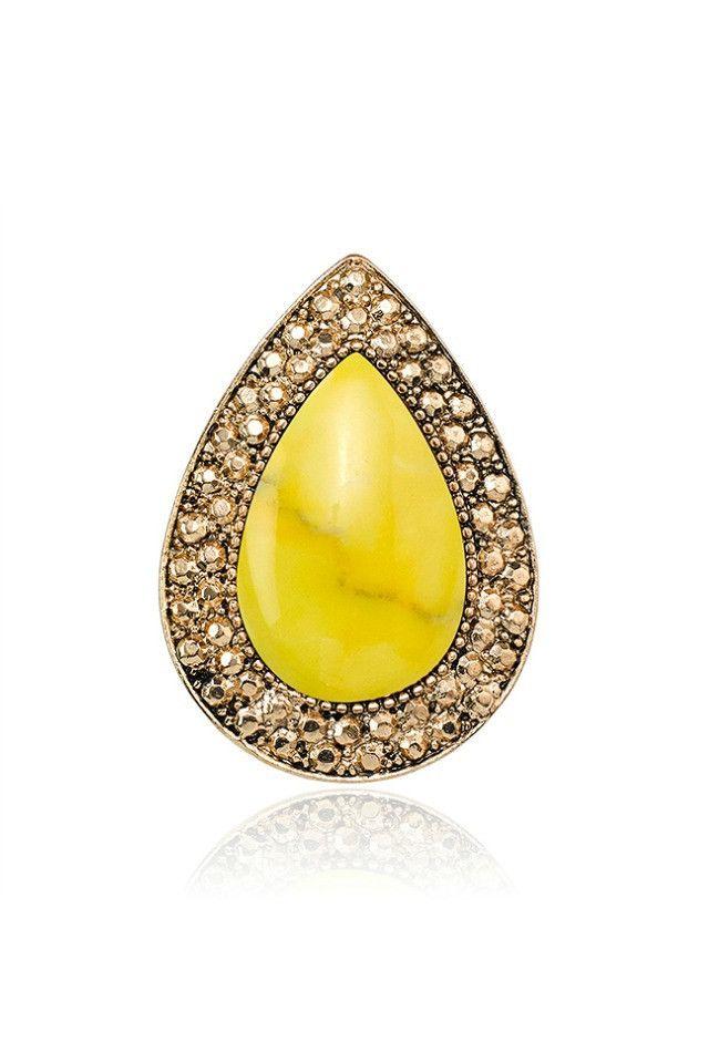 Samantha Wills Bohemian Bardot Ring - Yellow AUD$79.00 available at www.carouselbondi...