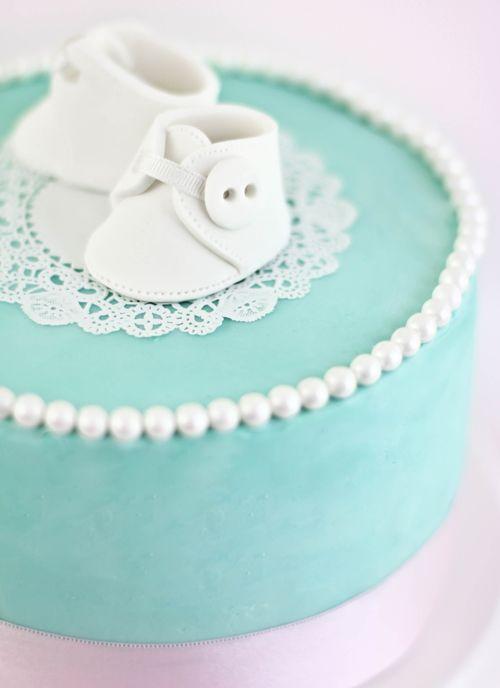 Sprinkle Bakes: Pastel de botitas blancas!