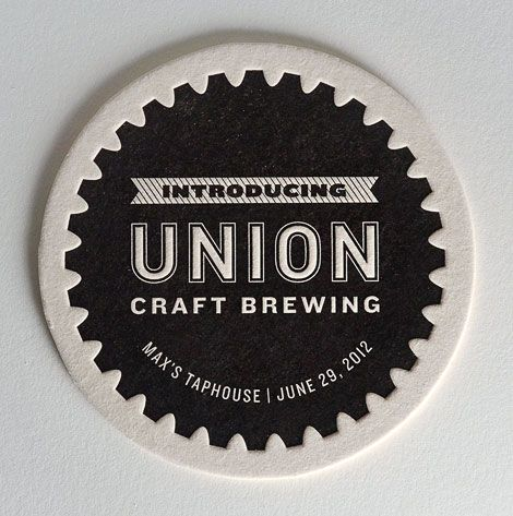 Union Craft Brewing (Baltimore, MD) designed by Gilah Press + Design.