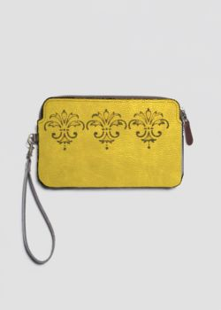 Leather Statement Clutch - STINGRAY by VIDA VIDA Cheapest Genuine For Sale Hot Sale For Sale zNbv6