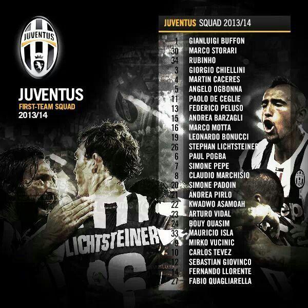 Juventus - season 2013/14