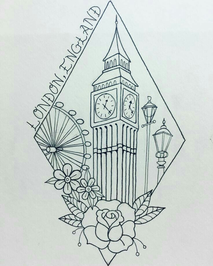London Tattoo-Konzept