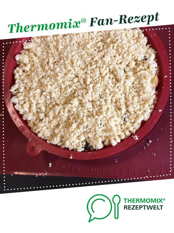 Apfel Streusel Kuchen Ruck Zuck Von Pink123 Ein Thermomix Rezept