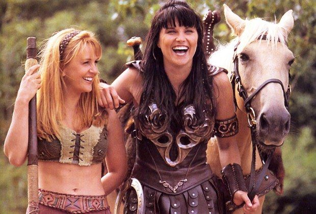 Mira la foto del reencuentro de las protagonistas de Xena La Princesa Guerrera